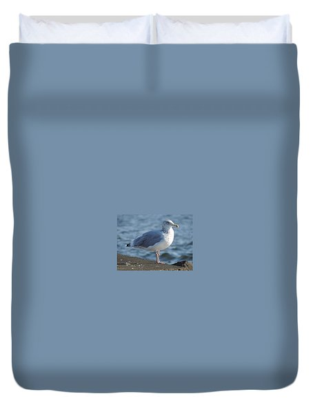 Birds In The Air  Duvet Cover