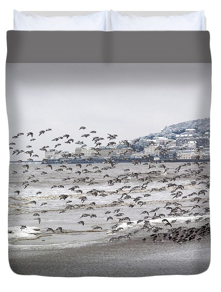 Birds Of A Feather..... Duvet Cover