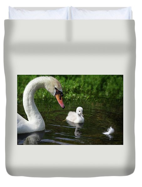 Birds Of Feather... Duvet Cover