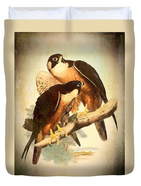 Birds Of Prey 2 Duvet Cover