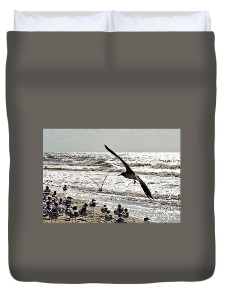 Birds World Duvet Cover