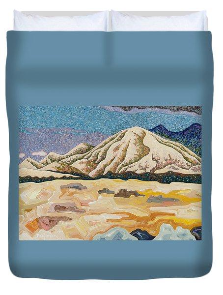 Birdseye Landscape #5 Duvet Cover by Dale Beckman