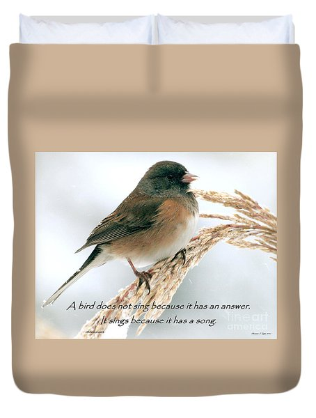 Birdsong Duvet Cover