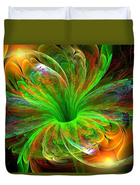 Birst Of Spring Duvet Cover