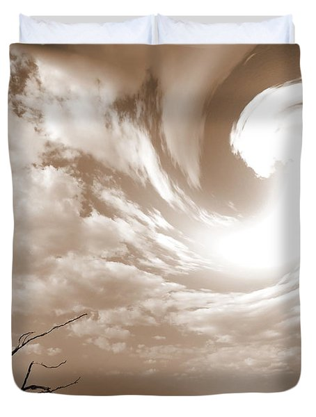 Birth Of Brazilian Nature Duvet Cover