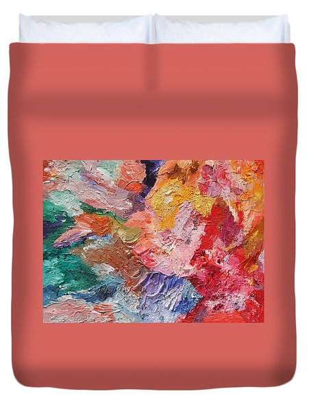 Birth Of Passion Duvet Cover