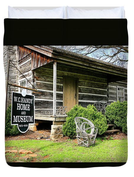 Birthplace Of Wc Handy Duvet Cover