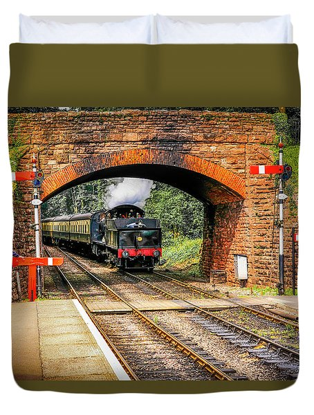 Bishops Lydeard Station, Uk Duvet Cover