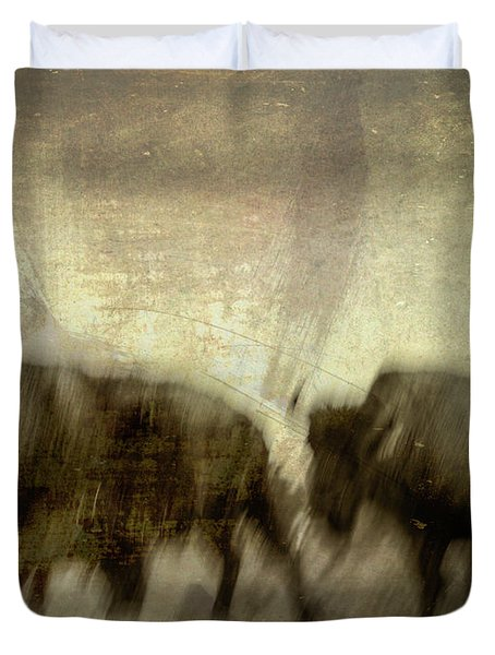 Duvet Cover featuring the photograph Bison 3 by Joye Ardyn Durham