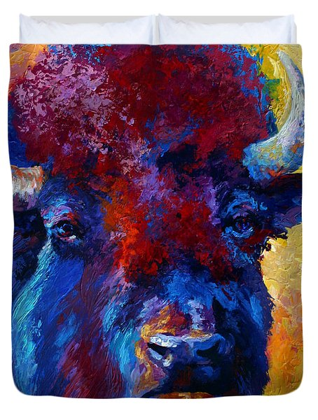 Bison Boss Duvet Cover