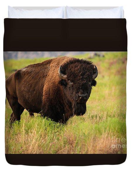Bison Prime Duvet Cover