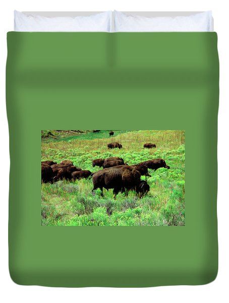 Bison2 Duvet Cover