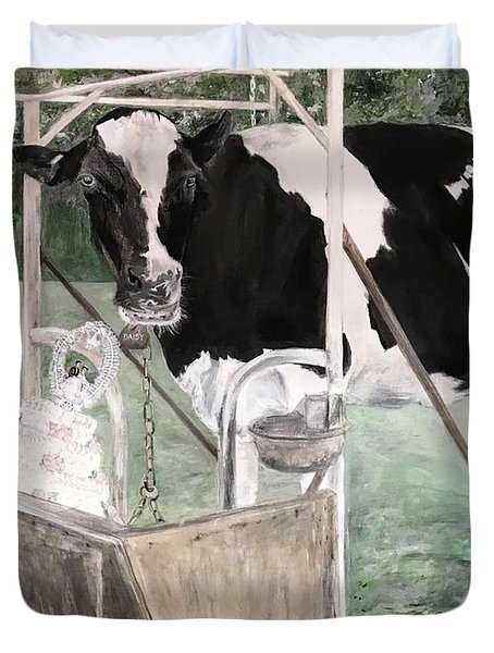 Bitter Milk Duvet Cover