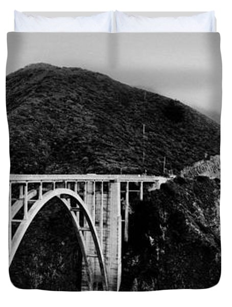 Bixby Bridge - Big Sur - California Duvet Cover