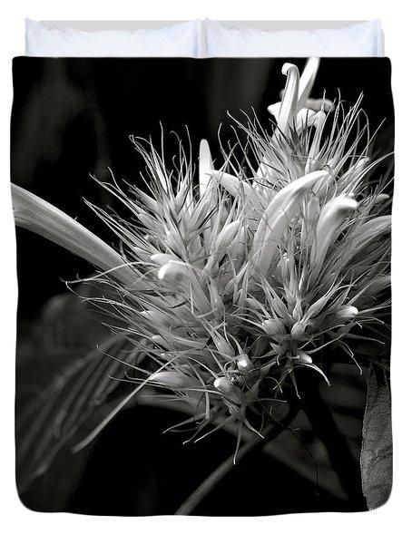 Bizarre Flower Charm Duvet Cover