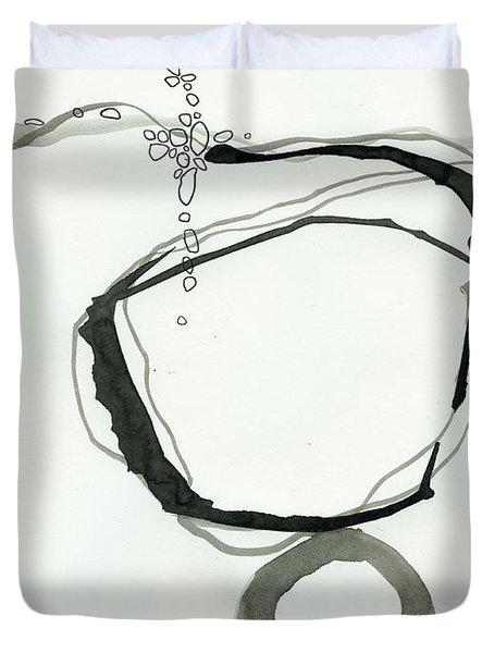 Black And White # 22 Duvet Cover