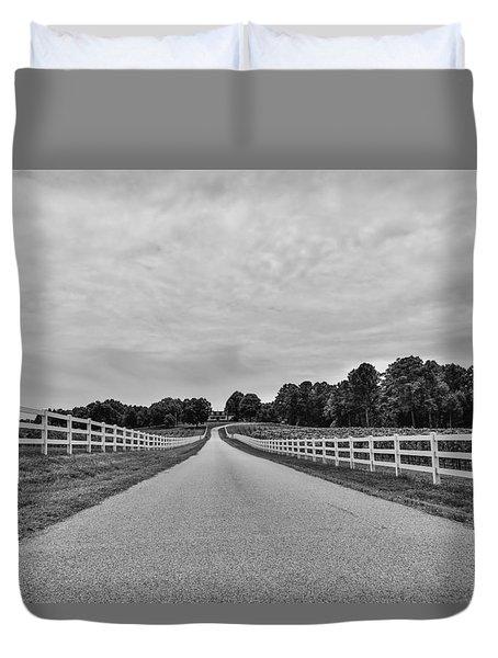 Black And White 134 Duvet Cover