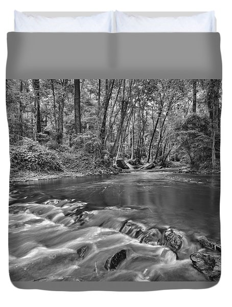 Black And White 36 Duvet Cover