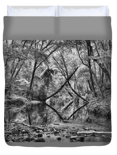 Black And White 40 Duvet Cover