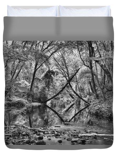 Black And White 40 Duvet Cover