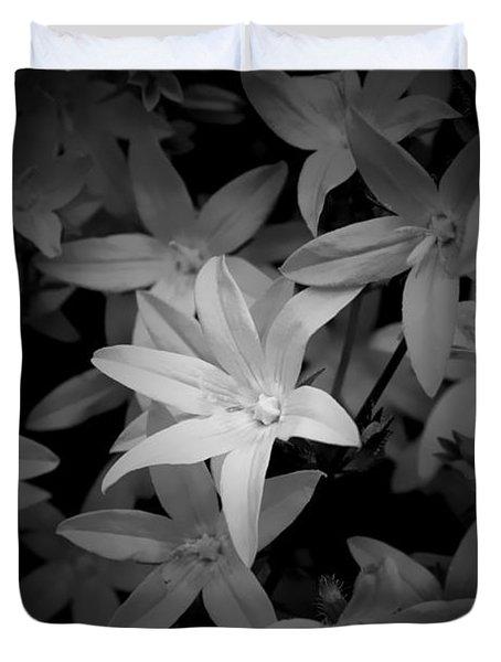 Black And White Duvet Cover by Milena Ilieva
