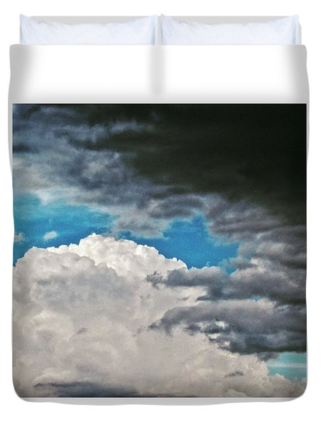 Black And White.  Duvet Cover