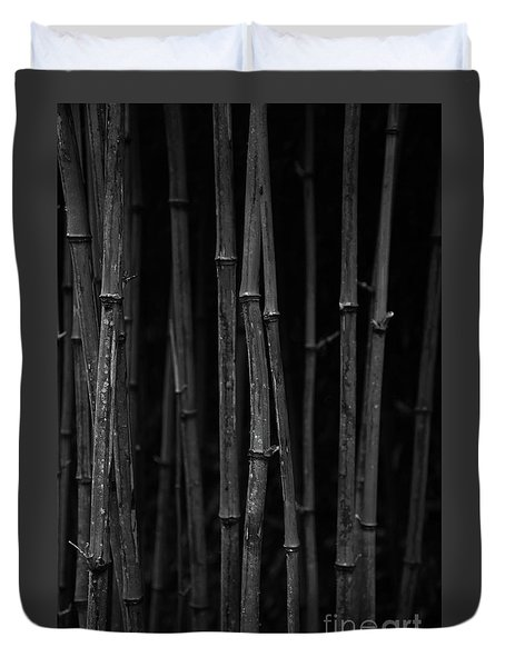 Black Bamboo Duvet Cover