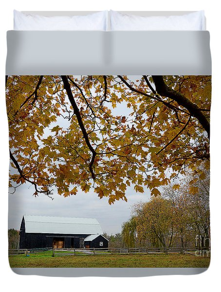 Black Barn Farm Duvet Cover