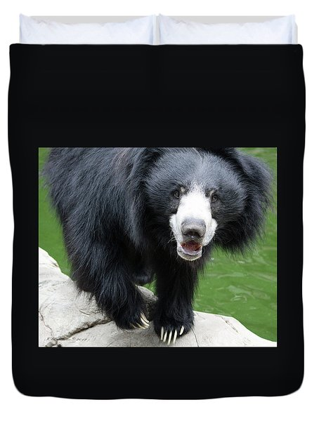 Sun Bear Duvet Cover