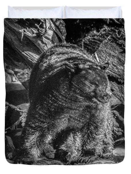 Black Bear Creekside Duvet Cover