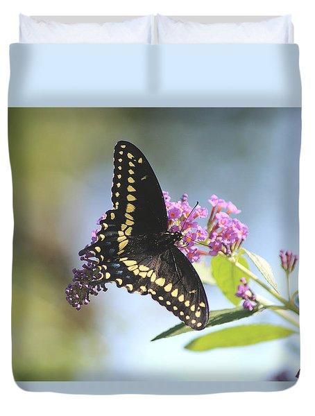 Black Beauty Duvet Cover