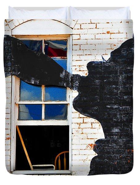 Black Betty Duvet Cover by Skip Hunt