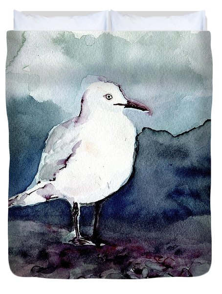 Black-billed Gull Duvet Cover
