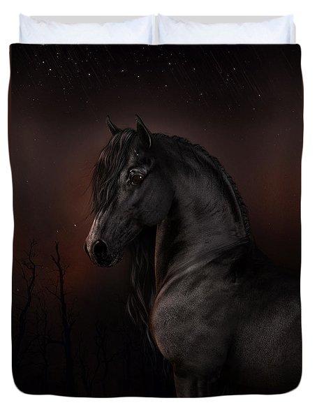 Black Dawn Duvet Cover