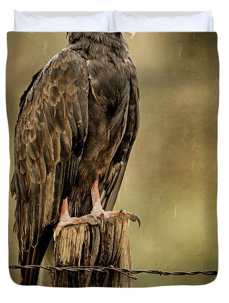 Black Eagle Duvet Cover
