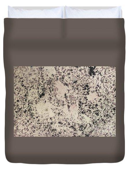 Black Ecru Duvet Cover