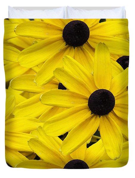 Black-eyed Susans 02 Duvet Cover