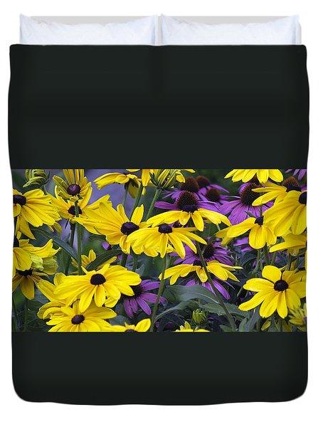 Black-eyed Susans Duvet Cover