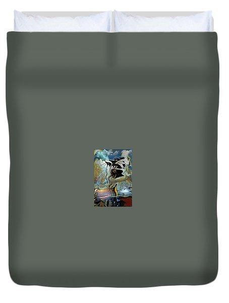 Black Flags Duvet Cover