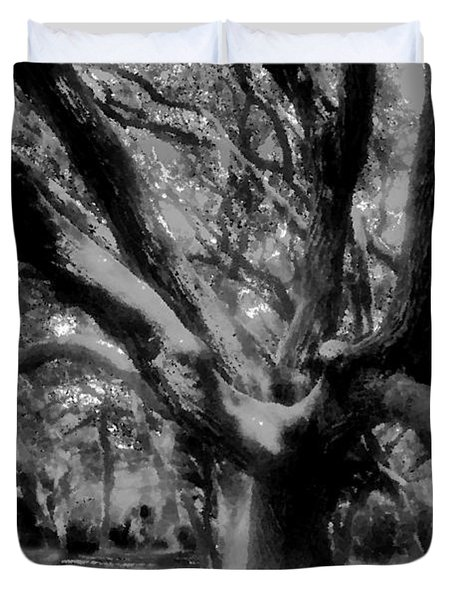 Black Forest Duvet Cover by David Lee Thompson