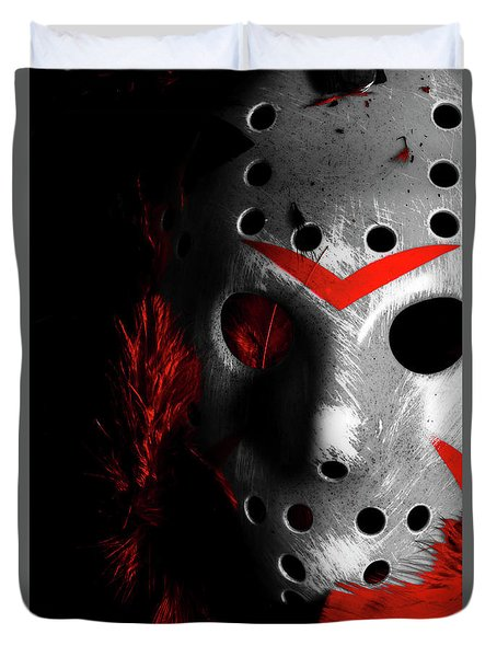 Black Friday The 13th  Duvet Cover by Jorgo Photography - Wall Art Gallery
