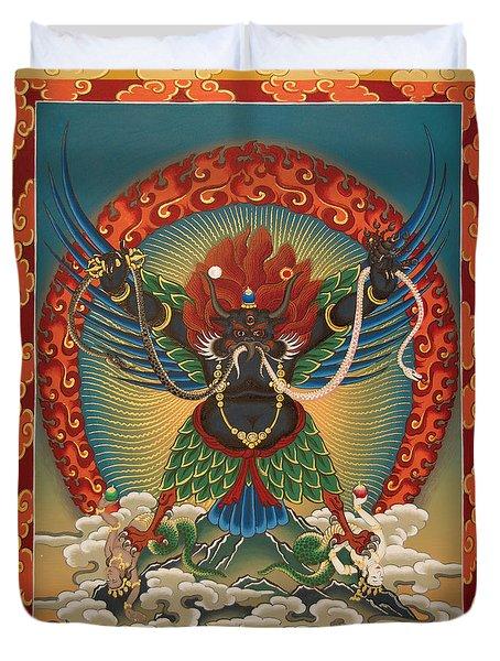 Black Garuda - Tsasum Tersar Duvet Cover