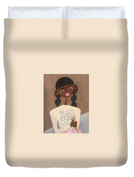 Black Girl Magic Duvet Cover