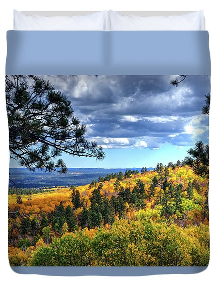 Black Hills Autumn Duvet Cover