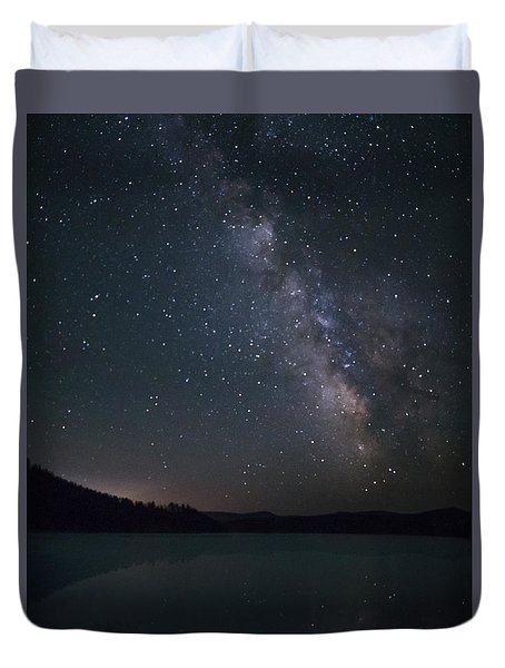 Black Hills Nightlight Duvet Cover