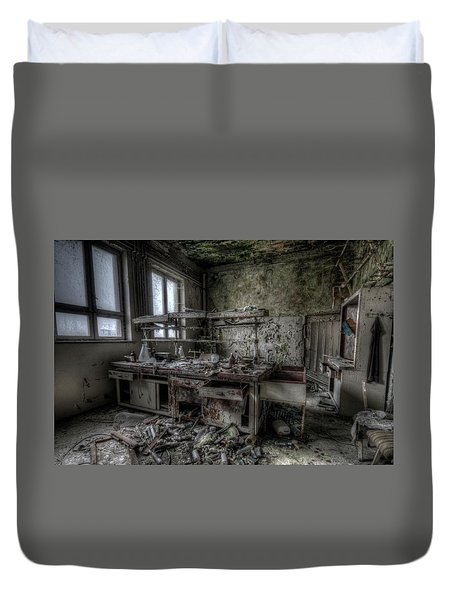 Black Lab Duvet Cover by Nathan Wright