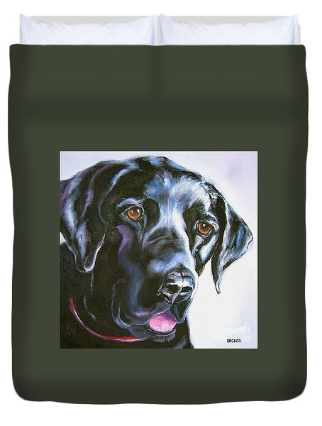 Black Lab No Ordinary Love Duvet Cover
