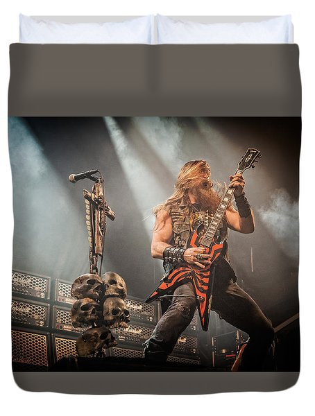 Duvet Cover featuring the photograph Black Label Society II by Stefan Nielsen