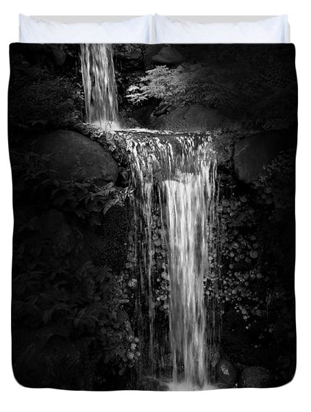 Black Magic Waterfall Duvet Cover