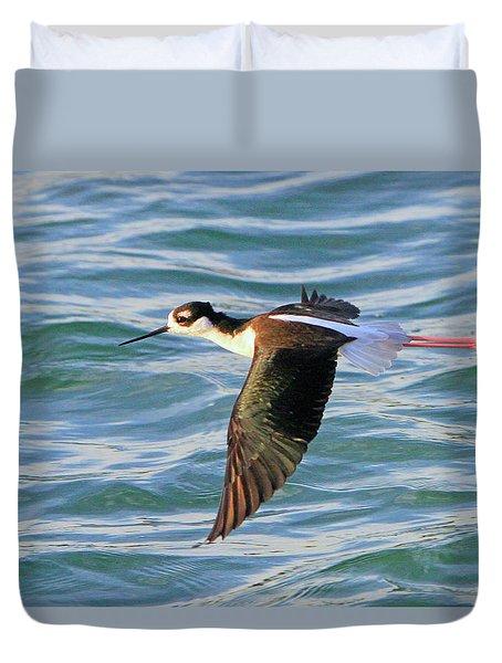 Black-necked Stilt 6 Duvet Cover